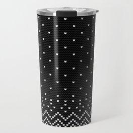 Pattern in Grandma Style #28 Travel Mug