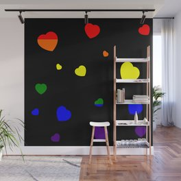 Chaotic Hearts, Pride Flag Series: LGBT Wall Mural