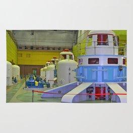 machine room HPP Rug