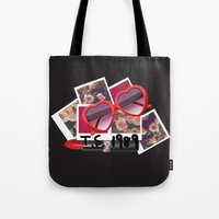 1989 Tote Bags featuring T.S. 1989 by littlestcupoftea