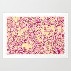 #MoleskineDaily_41 Art Print