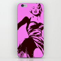 marylin monroe iPhone & iPod Skins featuring Marylin Monroe by Bill Murray