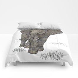 Adolescelephant Comforters