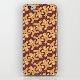 Gingerbread Man iPhone Skin