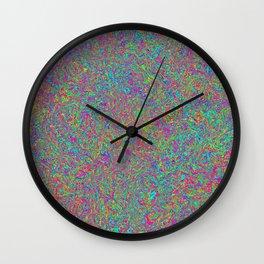 Color Medley Wall Clock