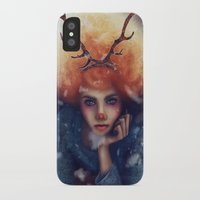 helen iPhone & iPod Cases featuring Helen by Joan Culum