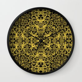 Lace Variation 08 Wall Clock