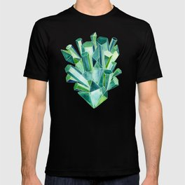 Emerald Watercolor T-shirt