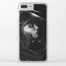 dead_astronaut Clear iPhone Case