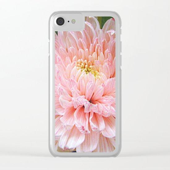 Pink Mum Clear iPhone Case