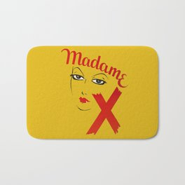 Vintage Madame X Movie Film Bold Graphic  Bath Mat