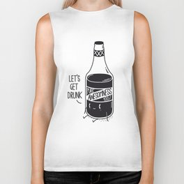 Pure awesomness Biker Tank
