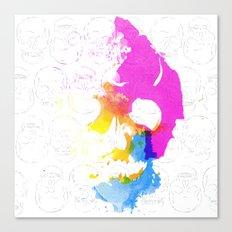 Skull Pop  Canvas Print
