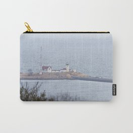 Foggy Eastern Point Lighthouse Carry-All Pouch