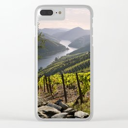 Vineyards along the Douro Valley, Portugal Clear iPhone Case