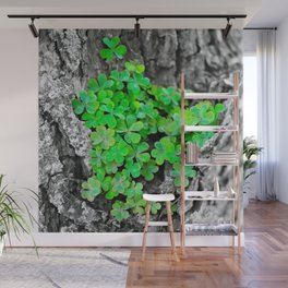 Clover Cluster Wall Mural