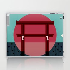 Snowing Sunset Laptop & iPad Skin
