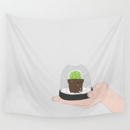 Sut Up Cactus Wall Tapestry