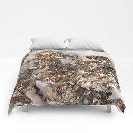 Pyrite and Quartz Comforters