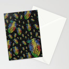 Mosaic of Bird V1 Stationery Cards