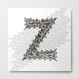 Color Me Z Metal Print