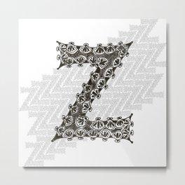 Color Me Z Metal Print