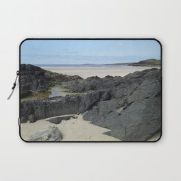 Rock Pool in Donegal Ireland Laptop Sleeve
