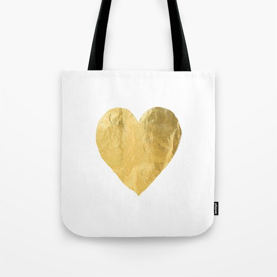 heart of gold Tote Bag