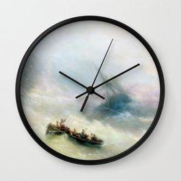 Ivan Aivazovsky - Rainbow Wall Clock