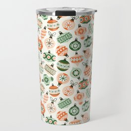 Vintage Ornaments Travel Mug