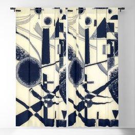 Wassily Kandinsky Lithograph III Blackout Curtain