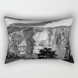 Mountains of Yosemite National Park  Rectangular Pillow