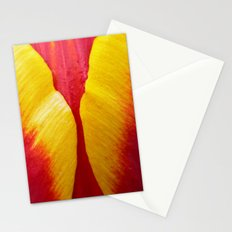 tulip petal Stationery Cards