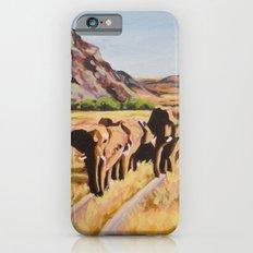Leslie's Elephants Slim Case iPhone 6s