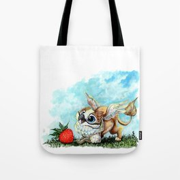 Strawberry Griffin Tote Bag