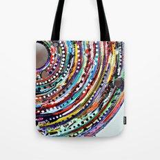 Color Vortex Tote Bag