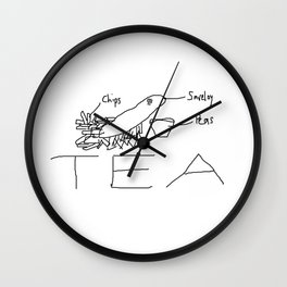 Chippy tea Wall Clock