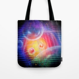 Abstract in perfection 113 - Space and time Tote Bag