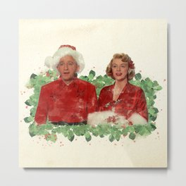 Bob & Betty (White Christmas) Metal Print