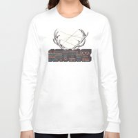native american Long Sleeve T-shirts featuring Native by Pilgrim