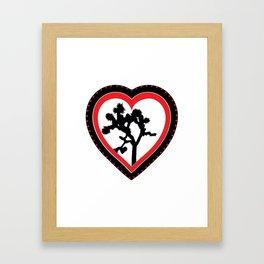 Heart of the Hi-Desert™ Joshua Tree by CREYES Framed Art Print