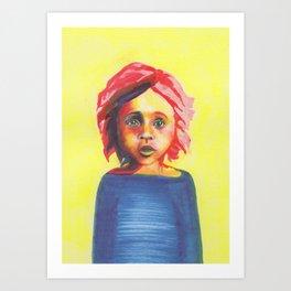 Les petites filles I.26 Art Print