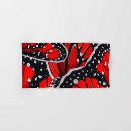red monarch Hand & Bath Towel