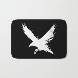 The Raven (Black Version) Bath Mat
