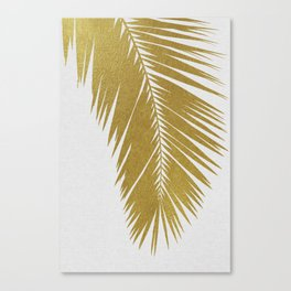 Palm Leaf Gold I Canvas Print