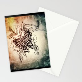 Winter textures Stationery Cards