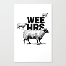 WeeHours Canvas Print