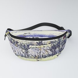 The Countryside In New York Fanny Pack