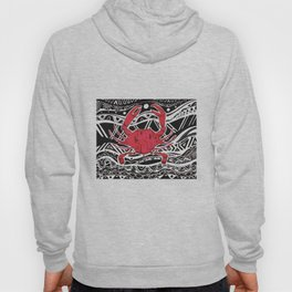 Red Crab Hoody