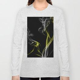 Smoke Yellow Long Sleeve T-shirt